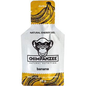 Chimpanzee Energy Gel - Nutrition sport - banane (vegan) 25 x 35 g